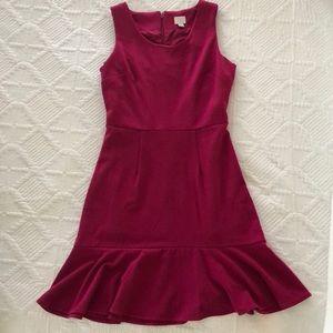 A new day cocktail dress// deep pink